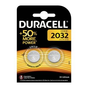 Duracell Batteries Specialty Lithium, DL / CR2032, 2 pcs of 50004349