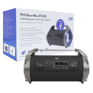 PNI BoomBox BT240 stereo portable speaker