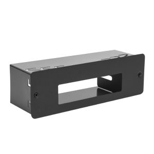 Mounting housing PNI 1DIN compatible with Albrecht 6110, CRT One, Yosan Micro