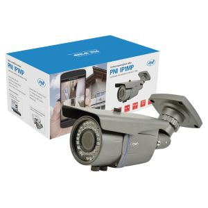 PNI IP1MP 720p video surveillance camera with 2.8 - 12 mm varifocal IP outside