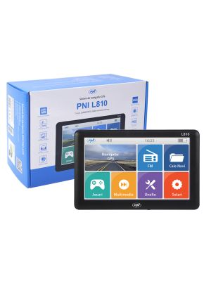 GPS Navigation System PNI L810 7 inch screen, 800 MHz, 256M DDR, 8GB internal memory, FM transmitter