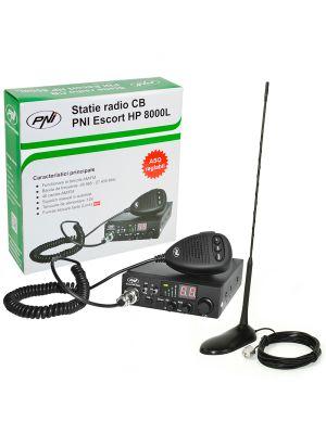 CBR CBI Station CBI ESCORT CB 8000L ASQ + CB PNI Extra 45 with Magnet